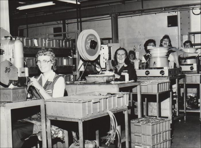 1950 Workers On The Hotpoint Factory Floor C1980 C