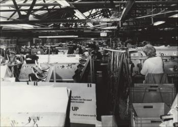 Interior of the Hotpoint Factory, c. 1980, © Hotpoint