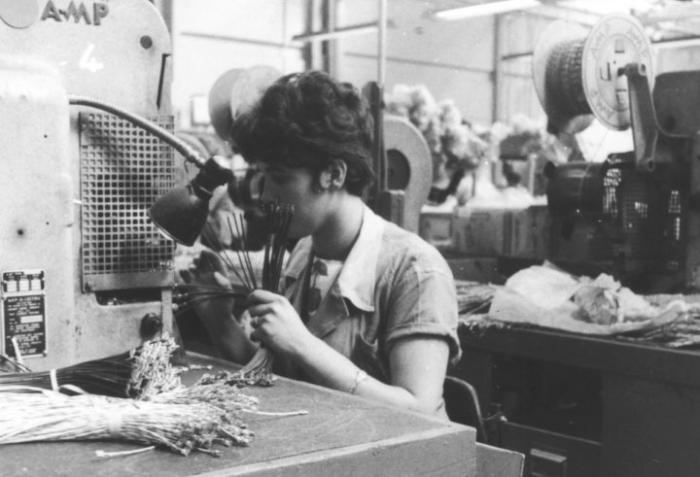 Barbara Vaughan At Work In Hoover Early 1960s